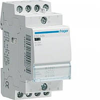 Контактор Hager 25A 4НО 230/240В, 50Гц (ESC425)