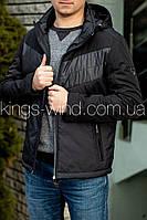 Куртка мужская BLACK VINYL TC20-1657 Черный, 54
