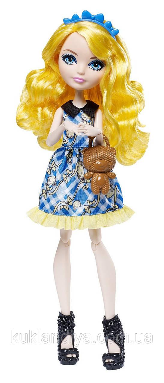 Кукла Ever After High Блонди Локс Зачарованный пикник