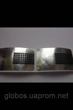 Формы  для наращивания искусственных ногтей RENEE  MA 41S, 500 штук silver, фото 2