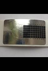 Формы  для наращивания искусственных ногтей RENEE  MA 41S, 500 штук silver, фото 3