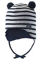 Демисезонная шапка для мальчика LASSIE by Reima 718781 - 6961. Размеры 38-52.