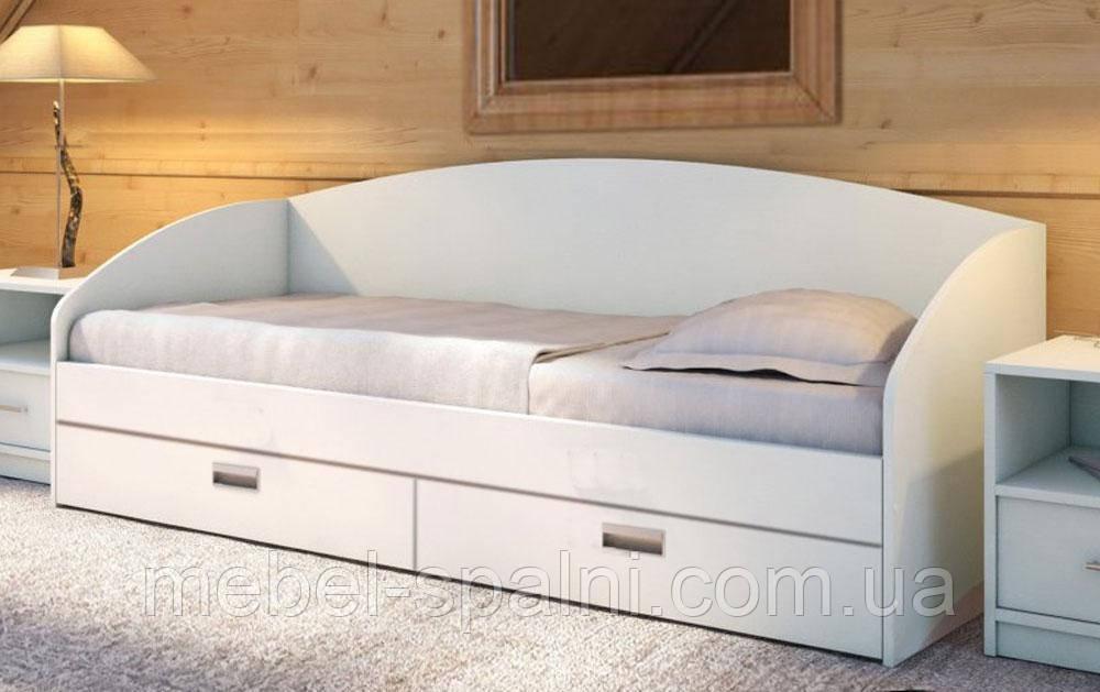 Ліжко підліткове - дитяча з дерева «Настя»