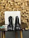 Женские Ботинки MS Boots Full Black МЕХ, фото 4