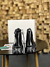 Жіночі Черевики MS Boots Full Black ХУТРО, фото 4
