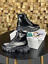 Жіночі Черевики MS Boots Full Black ХУТРО, фото 7