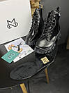 Жіночі Черевики MS Boots Full Black ХУТРО, фото 2