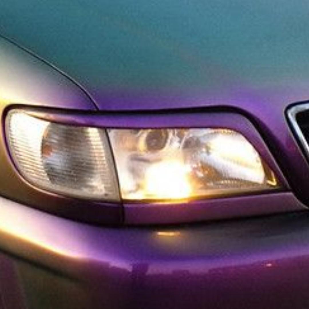 Реснички на Ауди А6 С5 (Audi A6 C5) (1998-2001 года)  /комплект