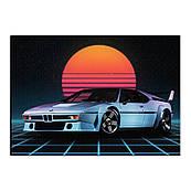 Автомобиль 6 вафельная картинка