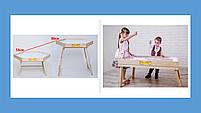 Световой стол-трансформер 70х50см Art&Play® ясень, фото 4