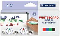 Набор маркеров для досок Centropen Board 2.5 мм (8559/4/CB)