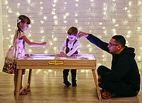 Световой стол-трансформер 70х50см Art&Play® ясень, фото 2