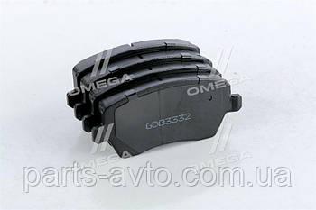 Колодки тормозные передние Renault Duster RIDER RD.23973STD, 7701208422, 410608481R