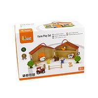 Игрушка Деревянная ферма Viga Toys (51618)