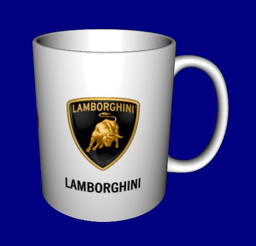 Кружка / чашка Ламборгини