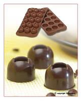 "Форма для шоколада ""Полусфера""  Ø 28 мм h 20 мм Silikomart"