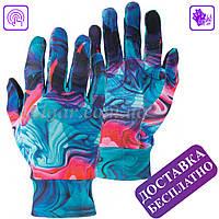 Яркие, стильные, эластичные сенсорные перчатки POW Easy Liner, фото 1