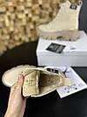 Женские Ботинки MS Boots Apricot (МЕХ), фото 4