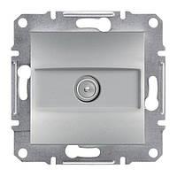 Розетка Schneider-Electric Asfora Plus TV концевая (1 дБ) алюминий (EPH3200161)