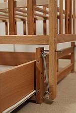 Кровать «Valeri» на шарнирах с ящиком на подшипниках (600 * 1200) (Бук), фото 3