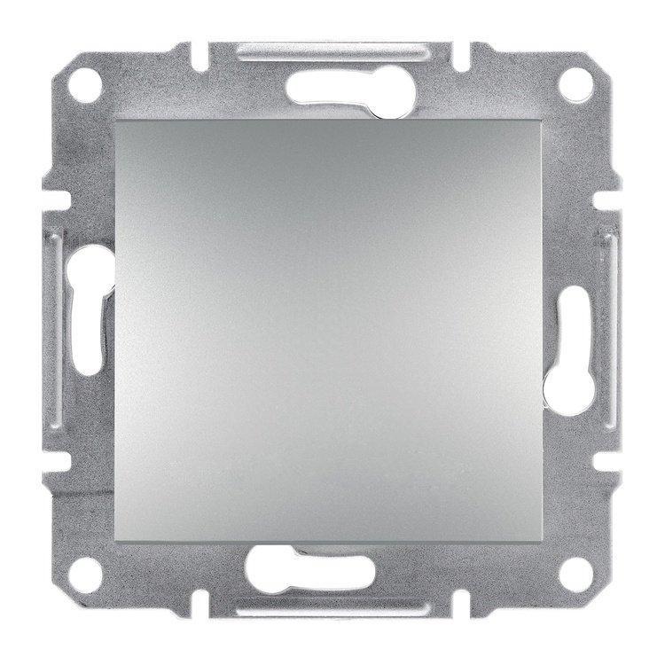 Переключатель Schneider-Electric Asfora Plus 1-клавишный перекрестный алюминий (EPH0500161)