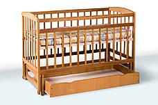 Кровать «Valeri» на шарнирах с ящиком на подшипниках (600 * 1200) (Венге), фото 2