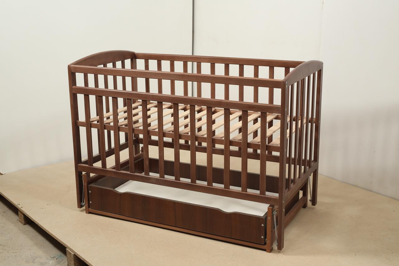 Кровать «Valeri» на шарнирах с ящиком на подшипниках (600 * 1200) (Венге)