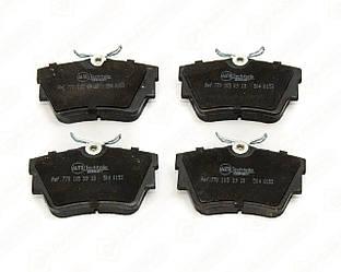 Дискові гальмівні колодки (задні) на Renault Trafic II 2001->2014 — AutoTechteile - 504.0153