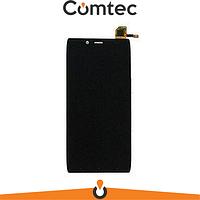 Дисплей для Alcatel 6032X Onetouch Idol Alpha Slate с тачскрином (Модуль) черный