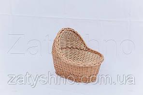 Люлька плетена   колиска з лози   плетена колиска для діток