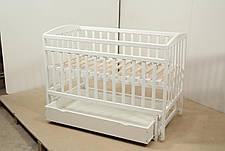 Кровать «Valeri» на шарнирах с ящиком на подшипниках (600 * 1200) (Белый), фото 2