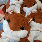 Іграшка-плед-подушка Хом'як великий, фото 7