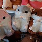 Іграшка-плед-подушка Хом'як великий, фото 5