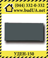 Теплый плинтус UDEN-150, 750х130х35, черный