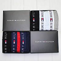Подарочный набор мужского нижнего белья трусы, боксеры, транки Тommy Hilfiger Томми Хилфигер 3шт в упаковке, фото 1