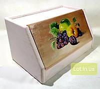 Хлебница деревянная #05, роспись., фото 1