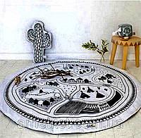 Одеяло коврик в детскую комнату Вигвамы - 218607