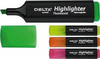 Маркер текстовый 1-5 мм Highlighter D2501 розовый
