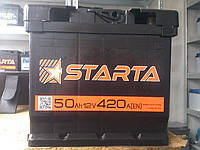 Аккумулятор Starta 50 А.З.Г.