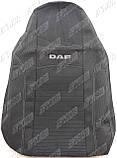 Авточехлы DAF XF 95 1+1 2002-2006 (серый) Nika, фото 4