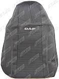 Авточехлы DAF XF 95 1+1 2002-2006 (серый) Nika, фото 6