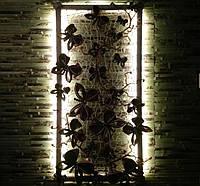 Kартина светильник на стену Бабочки