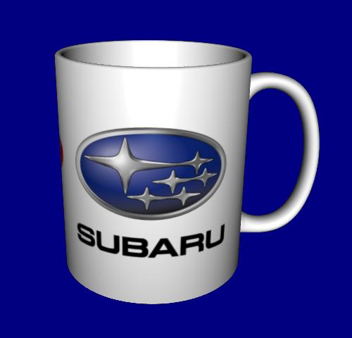 Кружка / чашка Субару