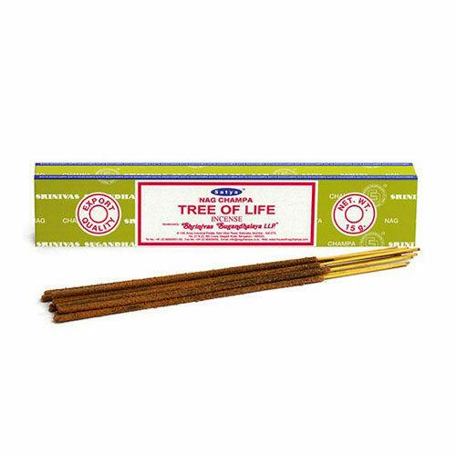 Ручные ароматические палочки «Сатья Наг Чампа Древо Жизни», 15 грамм, Nag Champa Tree of Life