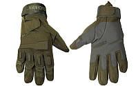 Перчатки тактические BLACKHAWK BC-4468-G (PL, закрытые пальцы, р-р L-XL, черный)