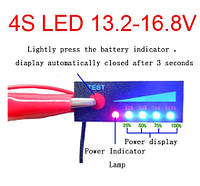 4S Battery indicator, Индикатор заряда 4S
