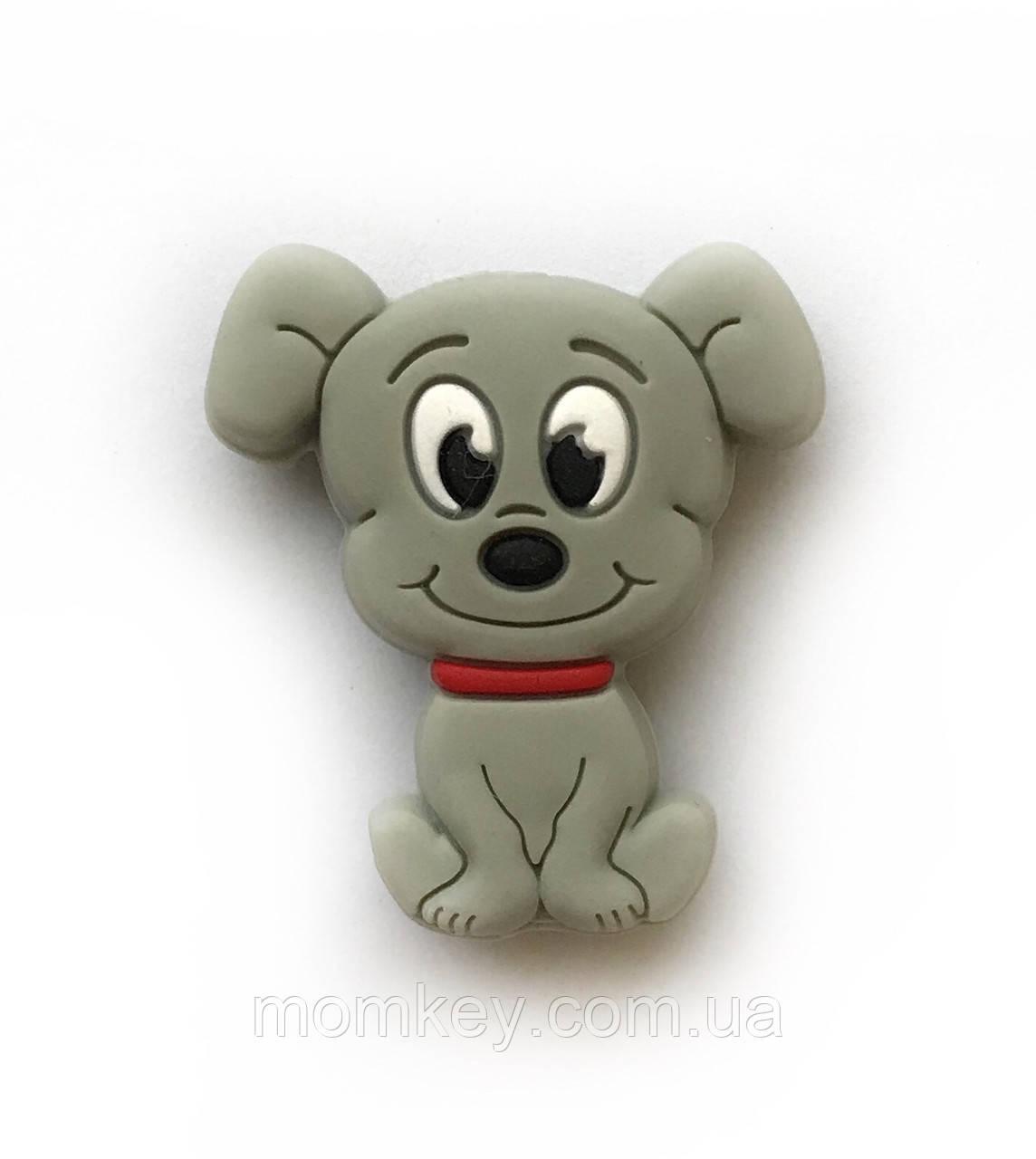 Мини собачка (светло-серый)