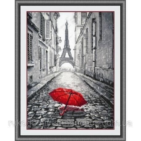 """Набір для вишивки хрестом ТМ Овен """"В Парижі дощ"""" 868"""