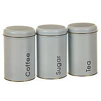 Набор баночек для хранения сыпучих продуктов (3 шт.), фото 1