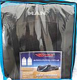 Авточехлы MAN TGX 1+1 2007- (серый) Nika, фото 3